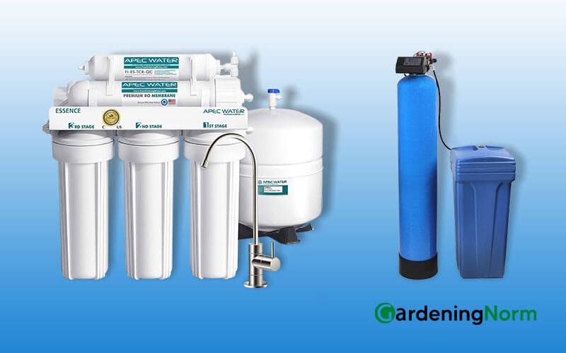 Reverse Osmosis vs Water Softener